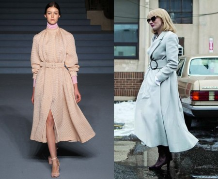 "The winter coat like in ""A most violent year"""