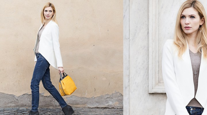 Blue Jeans in a chic way
