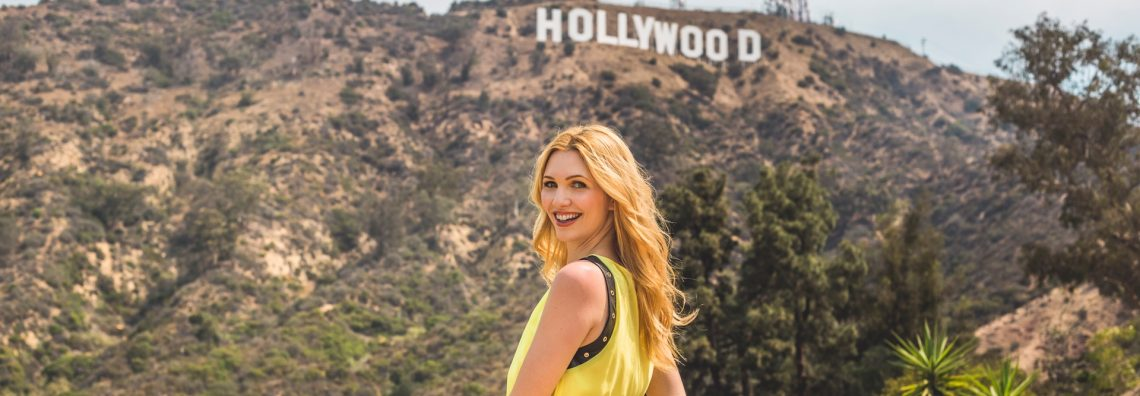 yellow dress in hollywood