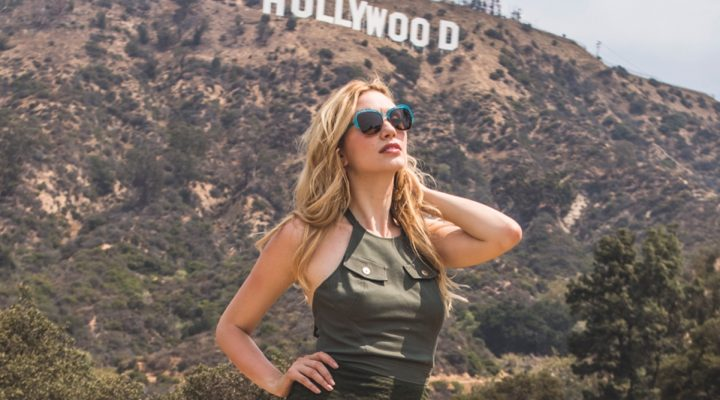 Military Chic on the Hollywood Hills