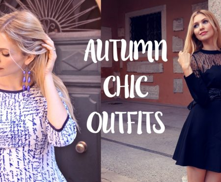 My autumn chic outfits for day and night!