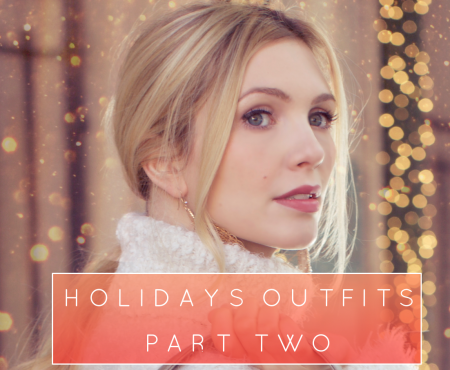 Holidays Outfits with shiny bags – Part Two