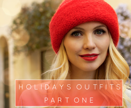Holidays Outfits in Red – Part One